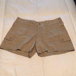 Mossimo Stretch khaki shorts